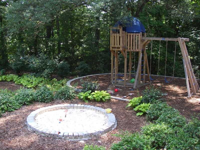 Attractive play areas