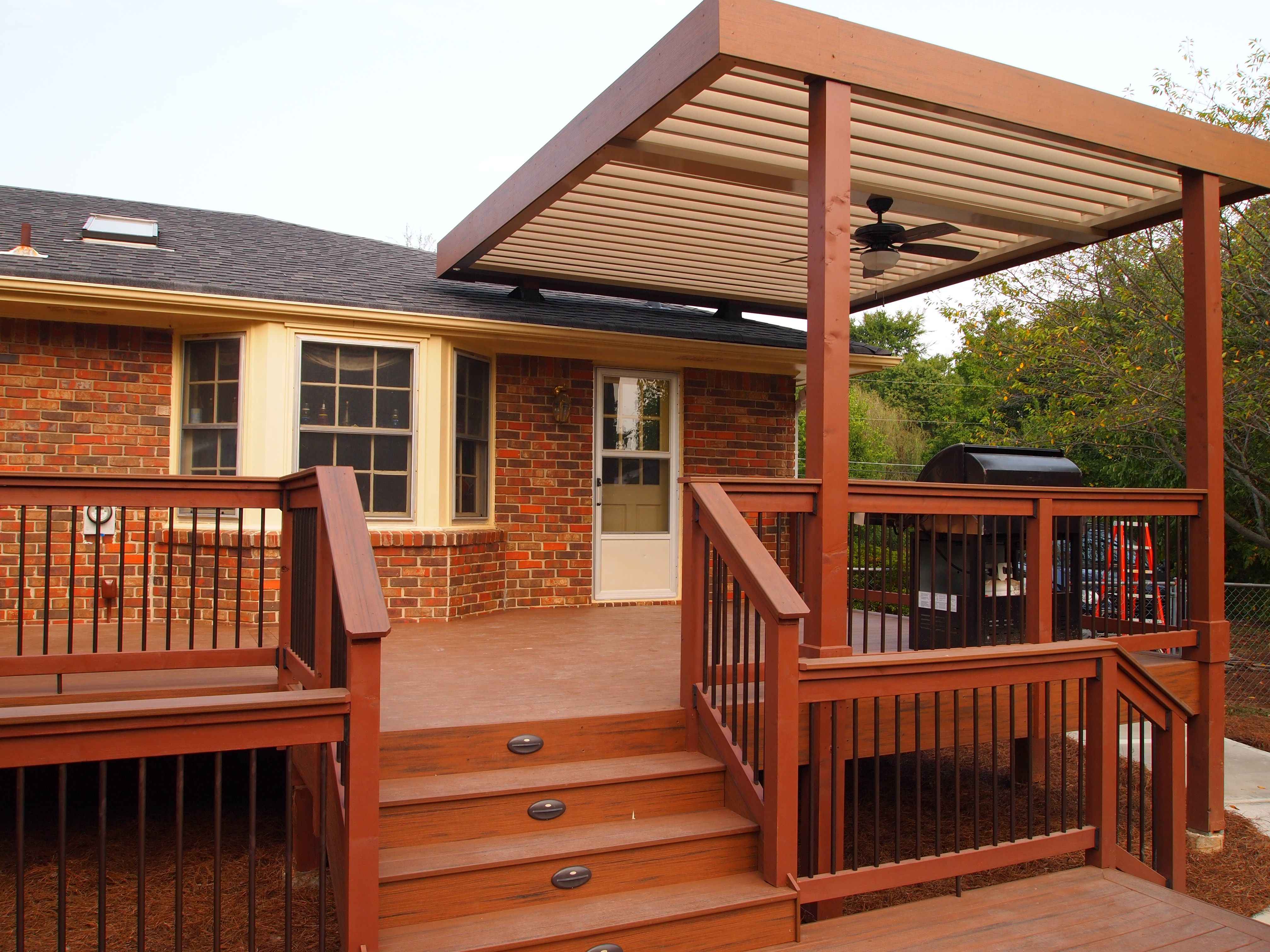 Superior Deck Adjustable Patio Cover