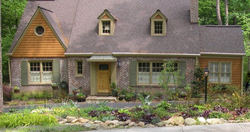 Home Garden Design Works With House Style To Create