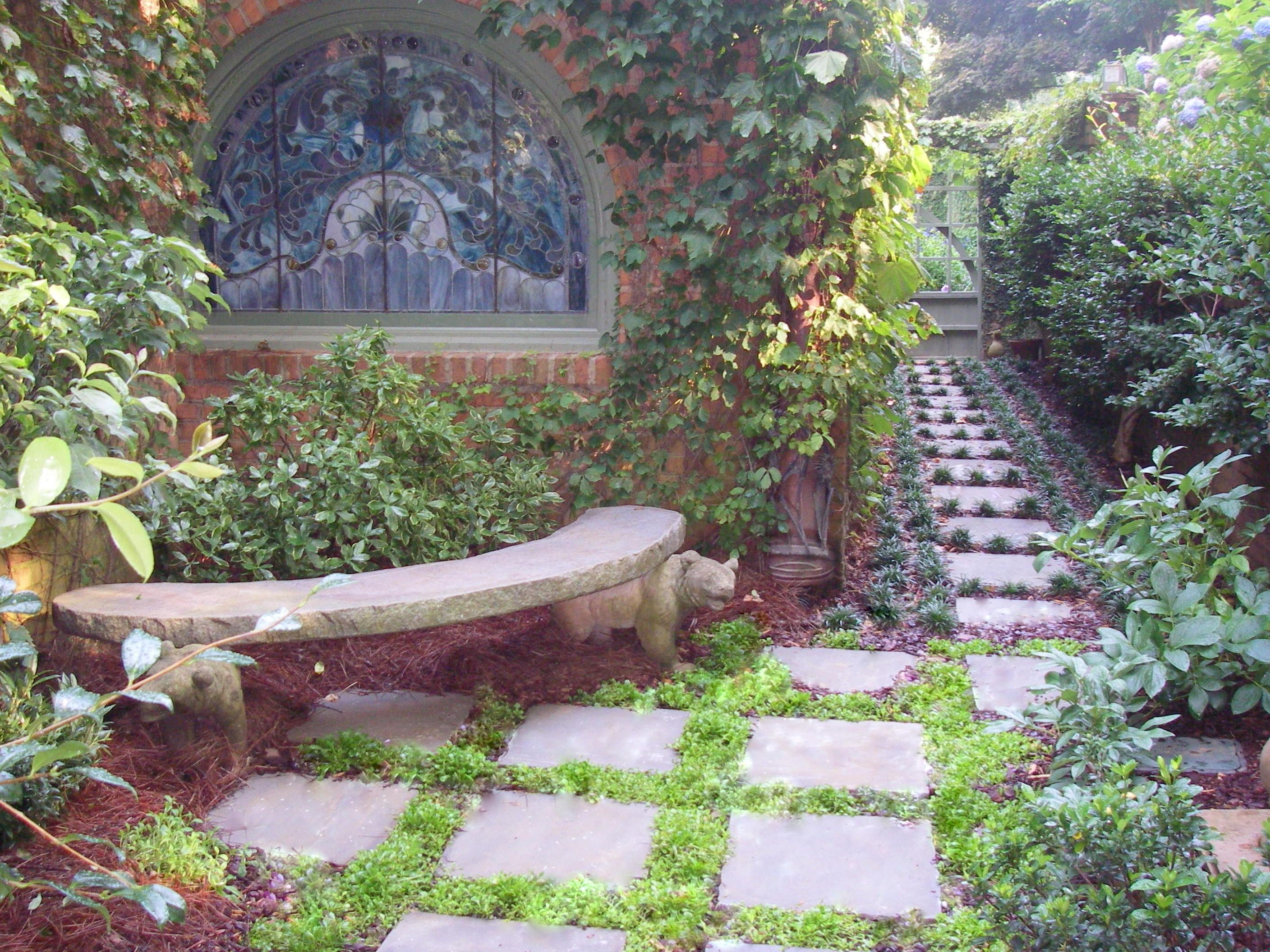 mediation garden sanctuary outdoor haven paths