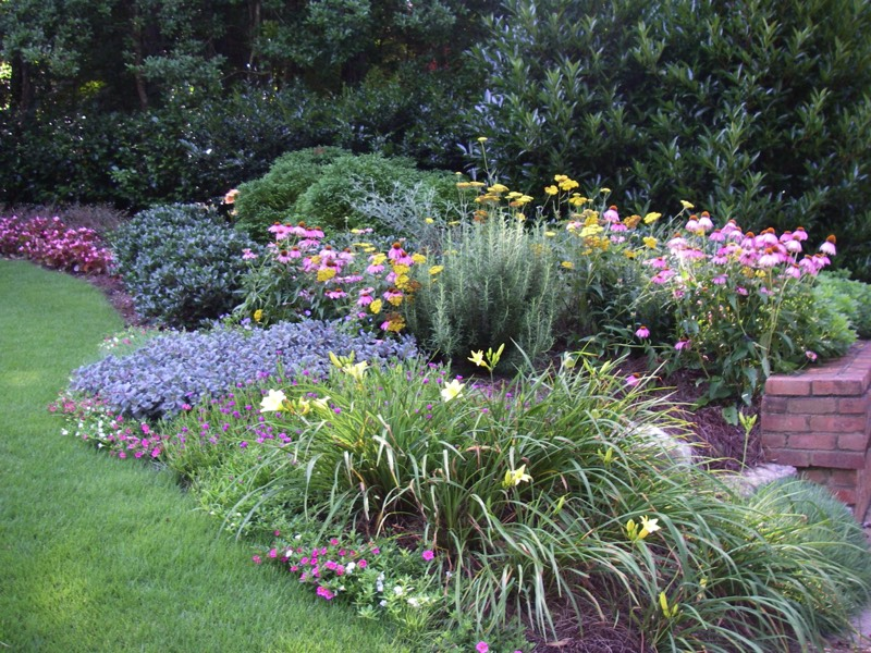 home and garden designs. perennial gardens Atlanta front yard landscape curb appeal Residential Landscape Architect Design Build Home Garden